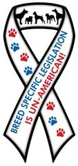 BSL is UnAmerican Ribbon Magnet