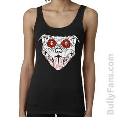 Bully Fans Bully De Los Muertos LADIES Tank Top - Black