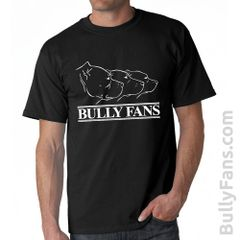 Bully Fans Logo T-shirt - BLACK