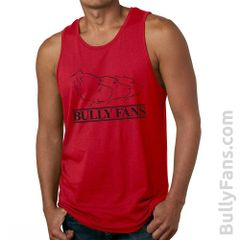 Bully Fans Logo Tank Top - RED