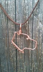 Pitbull Necklace - Copper