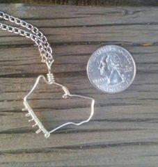 Pitbull Necklace - Silver