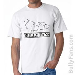 Bully Fans Logo T-shirt - WHITE