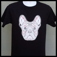 SALE Frenchie De Los Muertos YOUTH T-shirt - Black