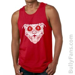 Bully Fans Bully De Los Muertos Tank Top - Red