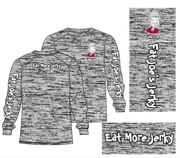 FAT JOE'S Long Sleeve Graphite Blend
