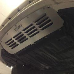 Heavy Duty Front Bumper Vented Aluminum Splash Shield / Under Tray for Lexus SC300 & SC400