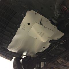 Light Duty Aluminum Engine Splash Shield / Under Tray for Lexus SC400