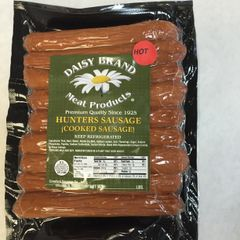 Hot Hunter Sausage (10 oz pack)