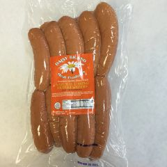 Jumbo Natural casing Frankfurters (5 lb bulk pack)-FEBRUARY SALE!