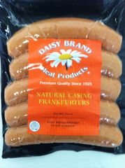 Natural Casing Jumbo Frankfurters (16 oz pack)-FEBRUARY SALE!