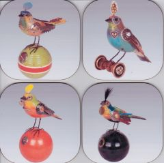 Birds ( set of 4 as pictured )