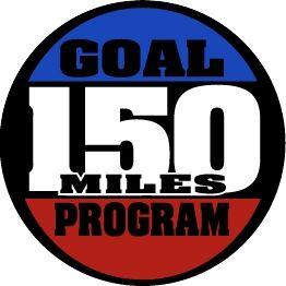 150 Mile Goal Medal