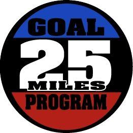 25 Mile Goal Medal
