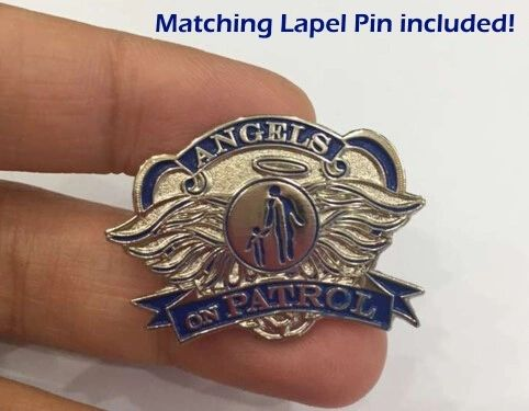 Angels on Patrol Pin