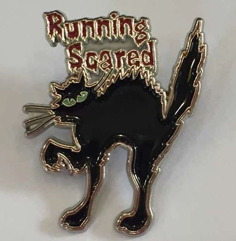 Running Scared Pin