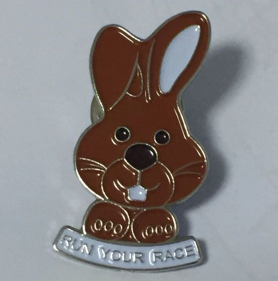Chocolate Bunny Pin 2017