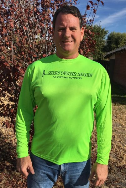 Run Your Race Long Sleeve Tech Shirt - Men