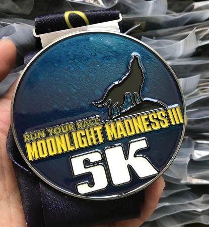 Moonlight Madness III Medal - 2018