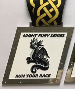 Night Fury Medal - Jun