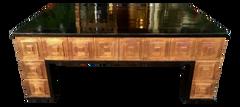 Antique Art Deco Architectural Copper Coffee Table