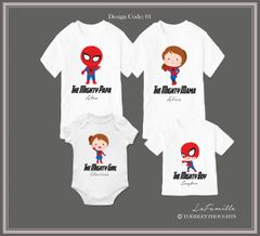 2019 Spider-Family (3 designs)
