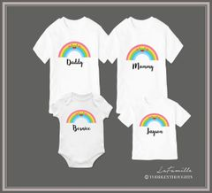 Cheerful Rainbow Family