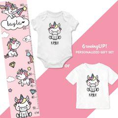 Pinky Unicorn Gift Set