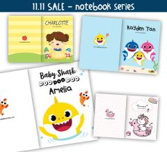 11.11 SALE -Bundle of 3 Notebooks (Select own design)