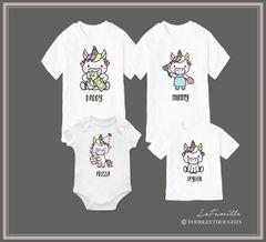 Magical Unicorn Family (15 Designs)