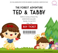 **The Forest Adventure Event - Ted&Tabby Go Around [21 Apr]