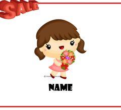 Tabby the Flowergirl