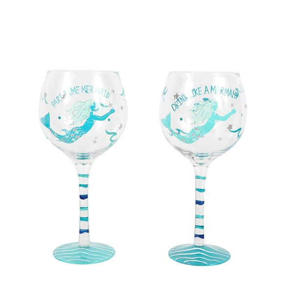 Mermaid Wine Glass Just Picked Gifts