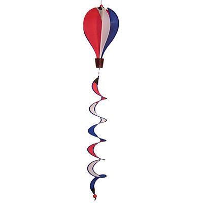 Mini R/W/B Hot Air Balloon