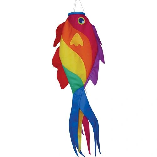 Rainbow Wrasse Fish Windsock by Premier