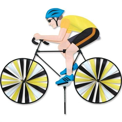 Man on Bicycle Spinner by Premier