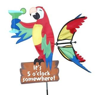 Island Parrot Small Spinner by Premier