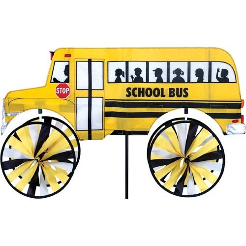 School Bus Spinner by Premier
