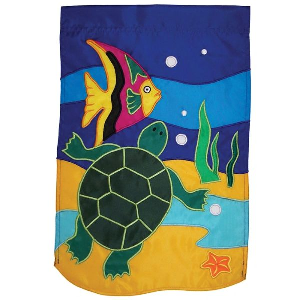 Sea Turtle Applique Banner