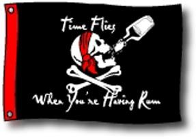 Time Flies Flag