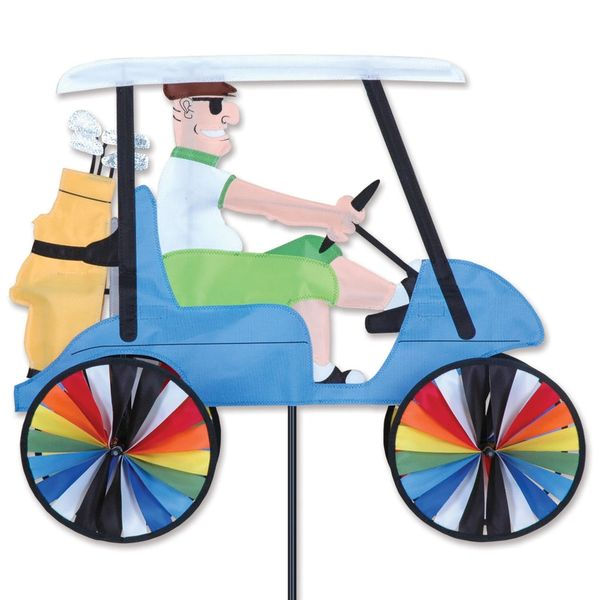 "Golf Cart Spinner 23"" by Premier"