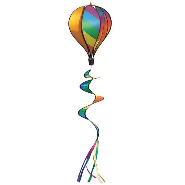 Hot Air Balloon Spinner Rainbow