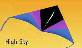 7 Foot High Sky Delta by Gomberg Kite Productions