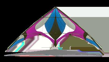 FreeBird Purple by Skydog Kites
