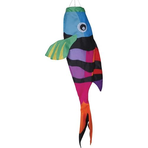 Rainbow Sargent Major Fish Windsock by Premier