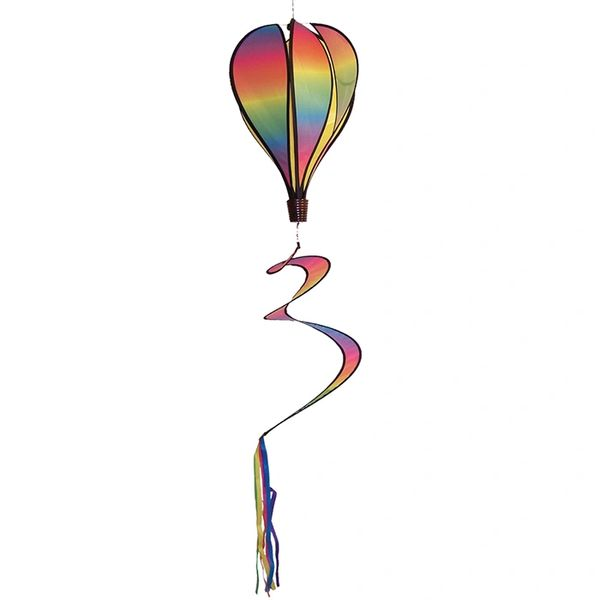 Rainbow Blended Hot Air Balloon