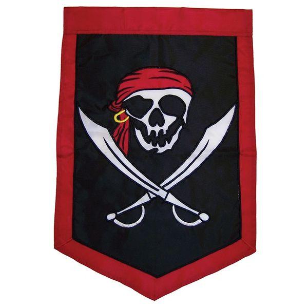 I'm A Jolly Roger Applique Garden Banner