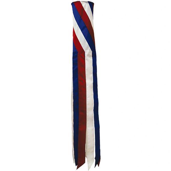 """Diagonal Patriotic 60""""Windsock"""
