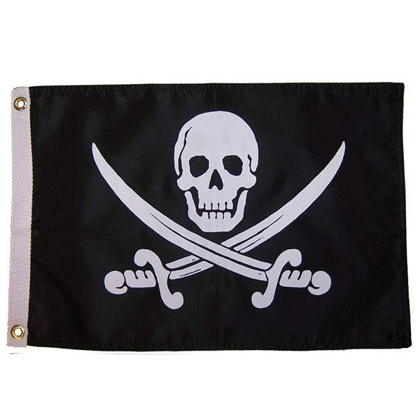 Jack Rackham 12x18 Grommet Flag