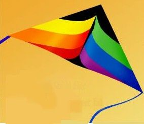 7 Foot Spectrum Delta By Gomberg Kite Productions
